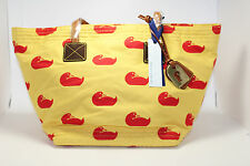 Dooney & Bourke DB Sport Duck Yellow Red Samantha Bag DK477 H7 NWT