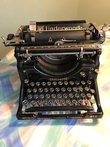 Underwood Standard Typewriter  No-5