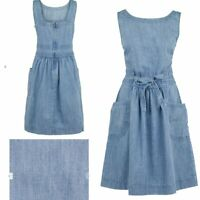NEW RRP £49.50 Ex  Fat Face Angie Dress, Chambray                         (B171)