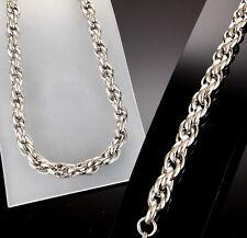 MACHING SET 316L SUPER HEAVY Stainless Steel Bracelet Necklace Men Wide Big no5