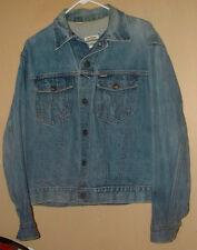 Vintage Big Yank 2 Pocket Sanforized Cotton Western Denim Jacket- 42 !