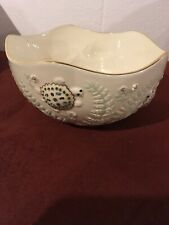 Lenox Turtle Gold Round Serving Bowl New