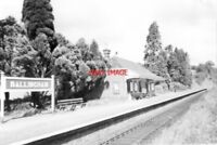 PHOTO  1963 BALLINGHAM STATION IN HEREFORDSHIRE WAS ON THE BEAUTIFUL HEREFORD TO