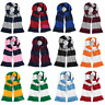 BEECHFIELD STYLE STADIUM SCARF DOUBLE LAYER KNIT SPORT STRIPES TEAM FOOTBALL