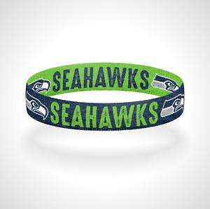 Reversible Seattle Seahawks Bracelet Wristband 12th Man Go Seahawks