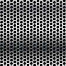 """Stainless Steel Perforated Sheet 22GA - 1/8"""" holes - 3/16"""" stagger - 12"""" x 48"""""""