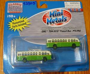 Classic Metal Works #52305 GMC TD 3610 Transit Bus 2-Pack - Philadelphia PTC