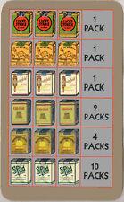 Slot Machine,Trade Stimulator, one arm bandit award cards (custom made for you)