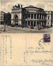 Palermo, teatro politeama garibaldi, viaggiata 1949