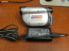 Sony Handycam Model Dcr-Dvd105 Carl Zeiss Camcorder Great Condition!