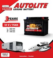Leisure Battery 12V 75ah  ULTRA 80 85 DEEP CYCLE Leisure MFS