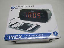 Timex T231G Dual Alarm AM/FM Clock Radio with Digital Tuning Line-In BNIB