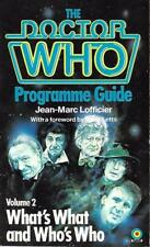 The DOCTOR WHO Programme Guide Volume 2 by Jean-Marc Lofficier (Paperback)