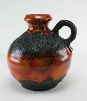 Roth Ebernhahn Fat Lava Keramik Vase Krugvase space age wgp 60s 70s pottery