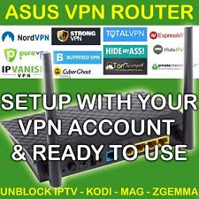 VPN ROUTER FOR IPTV ZGEMMA MAG FIRESTICK WORKS WITH PIA PUREVPN IPVANISH UNBLOCK