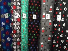 Bones Paws Male Belly Bands with Holders Dog Flannel Fabrics Carol's Crate Cover