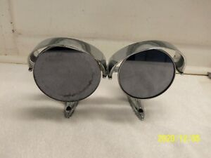 1957-58 Buick Hooded Rear View  Mirror Exterior Pair