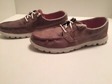 Sketchers On The Go Women's Brown Lightweight Boat Shoes Size 11