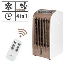 Klimagerät Luftbefeuchter Klimaanlage 4in1 Luftkühler Ventilator Ionisator LED