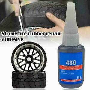 Bicycle Car Tire Tube Patching Glue Rubber Cement Adhesive Puncture Glue Re S4D2