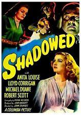Shadowed (Film Noir '46) Anita Louise, Lloyd Corrigan, Terry Moore.