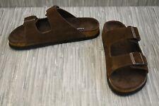 Dr. Scholl's Fin Sandals, Men's Size 9.5M, Brown