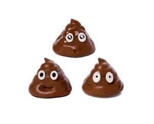 HogWild Stick The Poo! Squishy Moldable Brown Surprised Poop Emoji Toy
