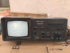 Vintage Combo Tv  Cassette  Radio Grundig Triumph 580 TRC Anno 1980 Funzionante