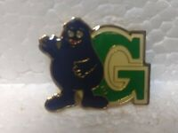 McDonald's Letter G Grimace Collectible Pin pin3296