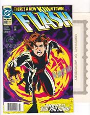 THE FLASH 92  NM- (9.2) 1st IMPULSE, SIGNED BY MARZAN, WIERINGO  (SHIPS FREE)*