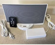 Bose Sounddock Series I - 30 pin iPod iPhone Docking Station White w/ Remote