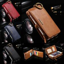 FLOVEME Wallet 18 Card Slots Stand Luxury Leather Case for iPhone 10 X 8 7 Plus