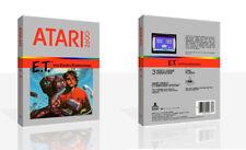 E.T. The Extra-Terrestrial Atari 2600 Game Case Box + Cover Art work (No Game)