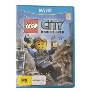 LEGO City Undercover Nintendo Wii U 2013 PAL tracking on postage free returns