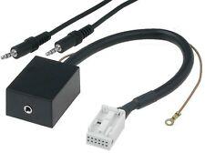 Adaptador aux Quadlock 12 pin VW rcd200 rcd300 rcd500 delta 6 cq-jv1060l mfd2 rns2