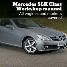Mercedes SLK class mk2 R171 Workshop service repair manual wiring 2004 - 2010