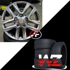 "20"" LX Style Hyperblack Wheels & Tires Fits Toyota Sequoia Tundra Land Cruiser"