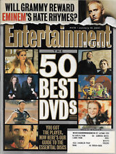 Entertainment Weekly Magazine January 19 2001 The 50 Best Dvds Eminem