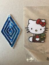 Hello Kitty & Blue Diamond Patch - Denim Jacket