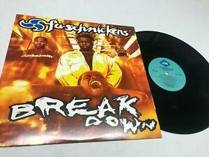Fu-Schnickens Breakdown Rap Record lp original vinyl album