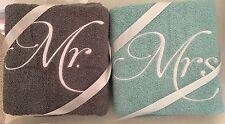 PERSONALIZED BATH TOWEL SET OF 3 MONOGRAMMED FREE WEDDING BRIDAL SHOWER GIFT