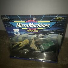 Babylon 5 Micro Machines #2 Space Ships Collection Mint On Card Tv Show