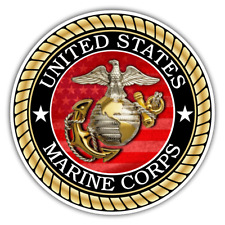 US Marine Corps Sticker for Cars Trucks for Honor and Support of Our Troops