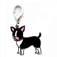 Hundehalsband Anhänger Schmuckanhänger  Chiwawa schwarz