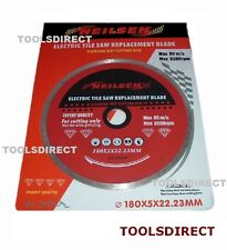 ELECTRIC TILE SAW BLADE 180MM DIAMOND WET CUTTING DISC