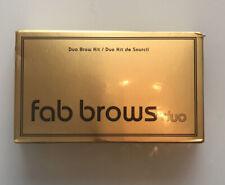 Fab Brows Duo eyebrow kit Dark brown/Chocolate , New