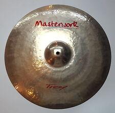 "Masterwork Troy Series 18"" Rock Crash Cymbal pelvico piatto PLATILLO Brilliant"
