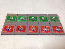 Lot of 10 Nintendo Game Boy Pokemon Red Green Pocket Monster From Japan