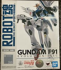 Bandai Robot Spirits Damashii Mobile Suit Gundam F91 Evolution Action Figure