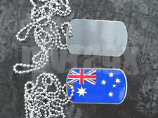Australian Flag Aussie Australia Charm Dogtag  Necklace Souvenir Syney Melbourne